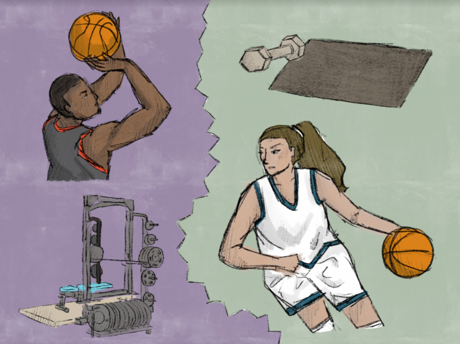 Gender+Discrepancies+in+US+Sports+Shines+at+NCAA+Tournament