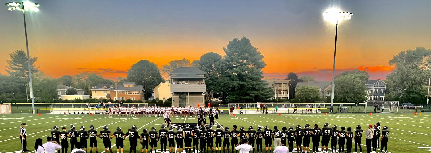 On a beautiful Friday night, the Falcons lost 20-7 in their annual Blackout Game.